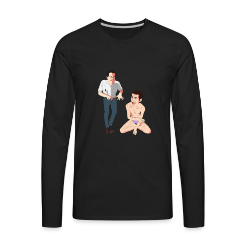 Mike and James - Men's Premium Long Sleeve T-Shirt