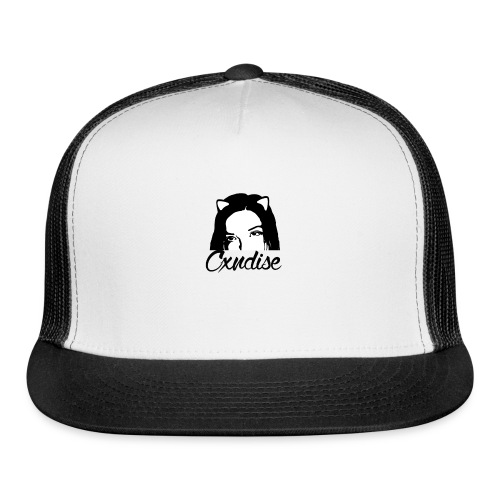 Cxndise B&W Men's Premium T-Shirt - Trucker Cap