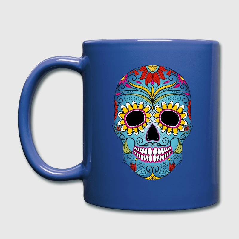 Day of the Dead mask - Full Color Mug