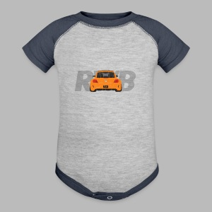 RWB Super Beetle Tee - Baby Contrast One Piece