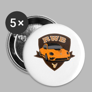 RWB Super Beetle Badge Tee - Small Buttons