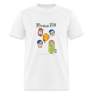 Ringer Faces Am. App Unisex - Men's T-Shirt