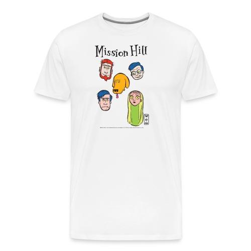 Ringer Faces Am. App Unisex - Men's Premium T-Shirt