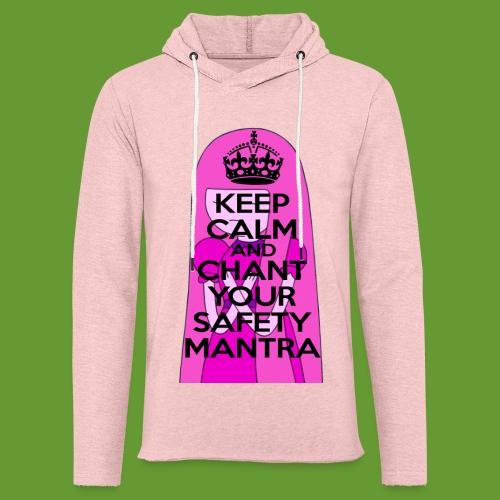 Safety Mantra - Unisex Lightweight Terry Hoodie
