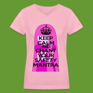 Safety Mantra - Women's V-Neck T-Shirt