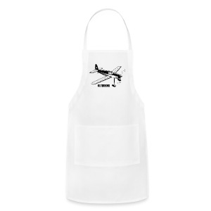 Outerzone, black logo (women) - Adjustable Apron