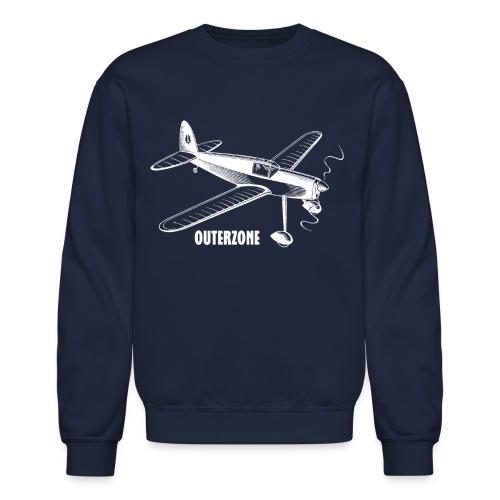 Outerzone, white logo - Crewneck Sweatshirt