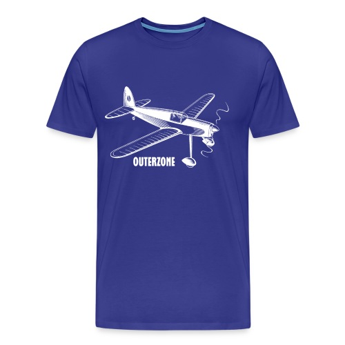 Outerzone, white logo - Men's Premium T-Shirt