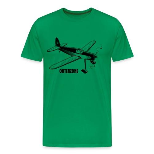 Outerzone, black logo - Men's Premium T-Shirt