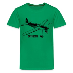 Outerzone, black logo - Kids' Premium T-Shirt