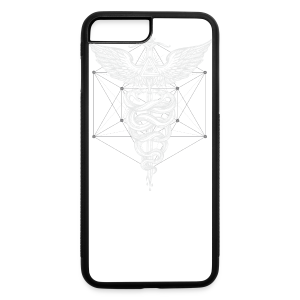 Caduceus-White - iPhone 7 Plus/8 Plus Rubber Case