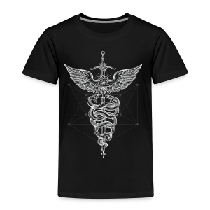 Caduceus-White - Toddler Premium T-Shirt