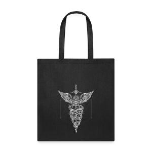 Caduceus-White - Tote Bag