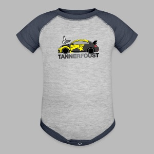 Kid's Tilted Foust Beetle Tee - Baby Contrast One Piece