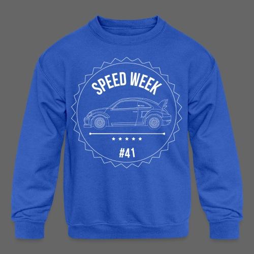 Kid's Speed Week 41 - Kids' Crewneck Sweatshirt