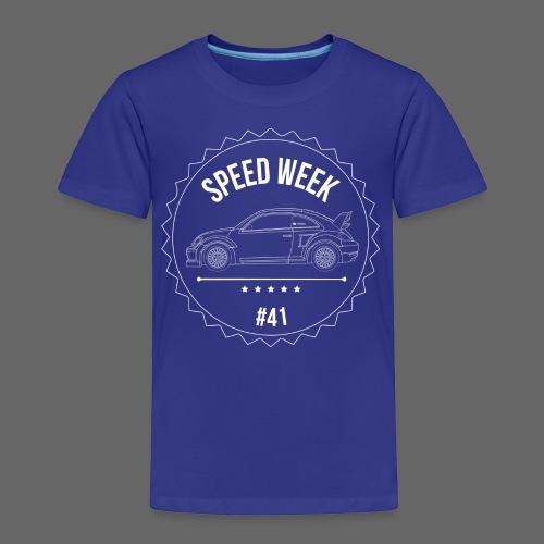 Kid's Speed Week 41 - Toddler Premium T-Shirt
