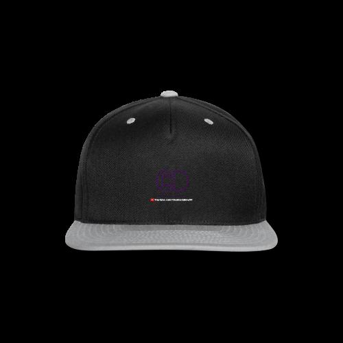CD Logo Colorblock Hoodie Men's - Snap-back Baseball Cap