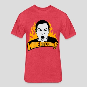 The Big Bang Theory: Wheaton - Fitted Cotton/Poly T-Shirt by Next Level