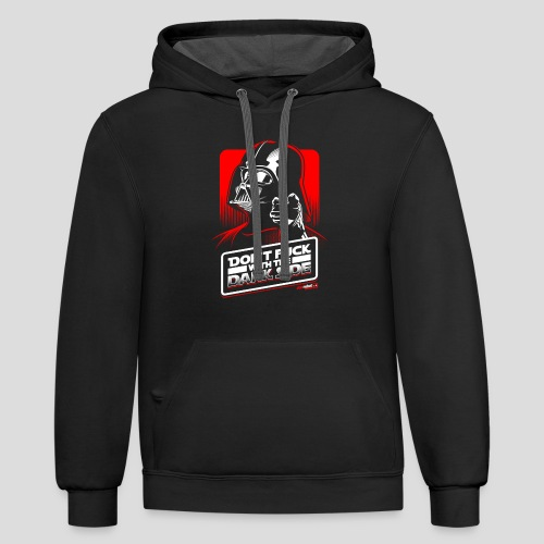 Star Wars: Don't Fuck with the Dark Side - Contrast Hoodie