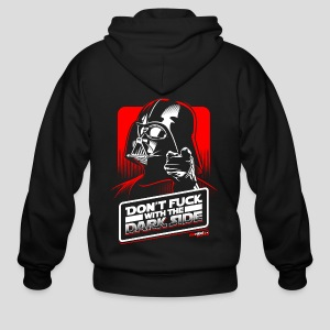 Star Wars: Don't Fuck with the Dark Side - Men's Zip Hoodie