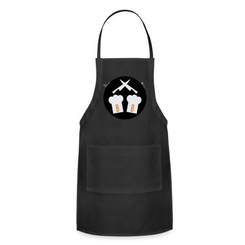 Boykin Bros. Choppin' it up w/ Logo on back - Adjustable Apron