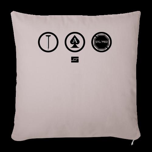 Women's #NACBS Shirt - Throw Pillow Cover