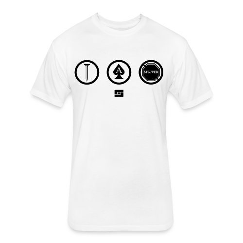 Women's #NACBS Shirt - Fitted Cotton/Poly T-Shirt by Next Level