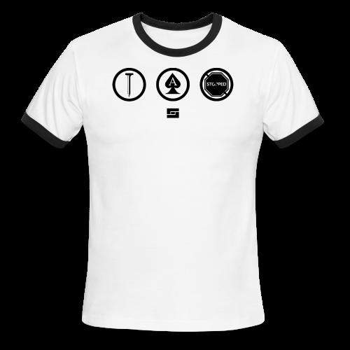 Women's #NACBS Shirt - Men's Ringer T-Shirt