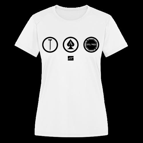Women's #NACBS Shirt - Women's Moisture Wicking Performance T-Shirt