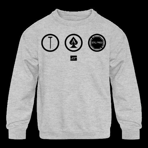 Women's #NACBS Shirt - Kids' Crewneck Sweatshirt