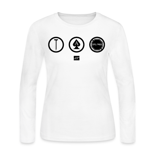 Women's #NACBS Shirt - Women's Long Sleeve Jersey T-Shirt