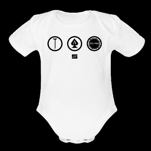 Women's #NACBS Shirt - Organic Short Sleeve Baby Bodysuit