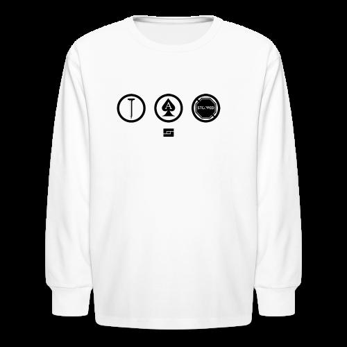 Women's #NACBS Shirt - Kids' Long Sleeve T-Shirt
