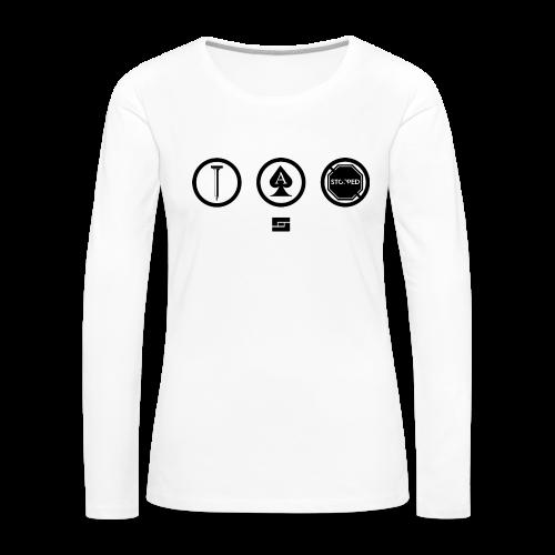 Women's #NACBS Shirt - Women's Premium Long Sleeve T-Shirt