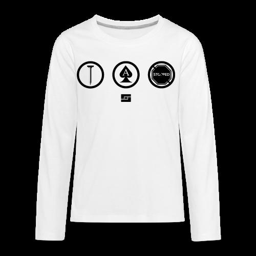 Women's #NACBS Shirt - Kids' Premium Long Sleeve T-Shirt