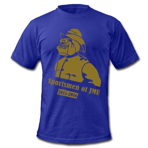 Crewneck (Purple) - Men's Fine Jersey T-Shirt