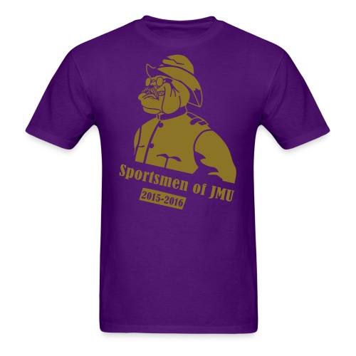 Crewneck (Purple) - Men's T-Shirt