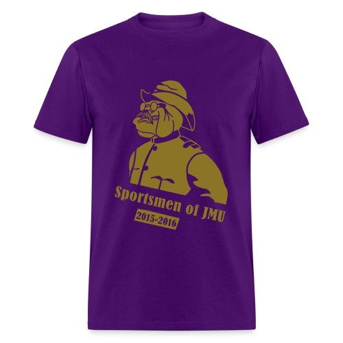 Crewneck (Purple) - Men's T-Shirt