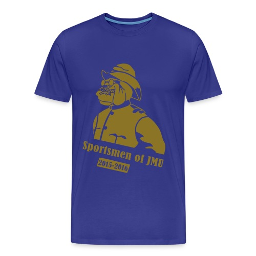 Crewneck (Purple) - Men's Premium T-Shirt