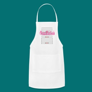 Natural Hair Goals With Measurements - Adjustable Apron