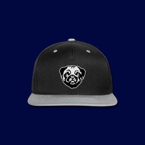 Pug Winter Hat - Snap-back Baseball Cap