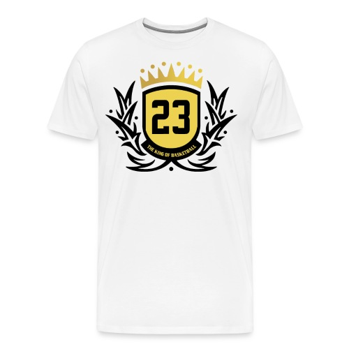 The King Of Basketball - Black - Men's Premium T-Shirt