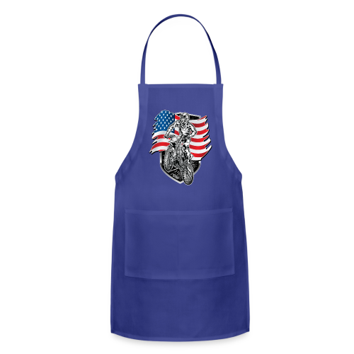 USA Flag Motocross - Adjustable Apron