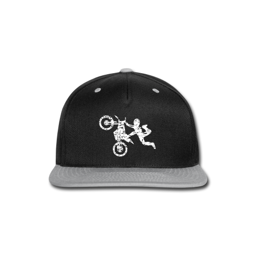 Freestyle Dirt Biker - Snap-back Baseball Cap