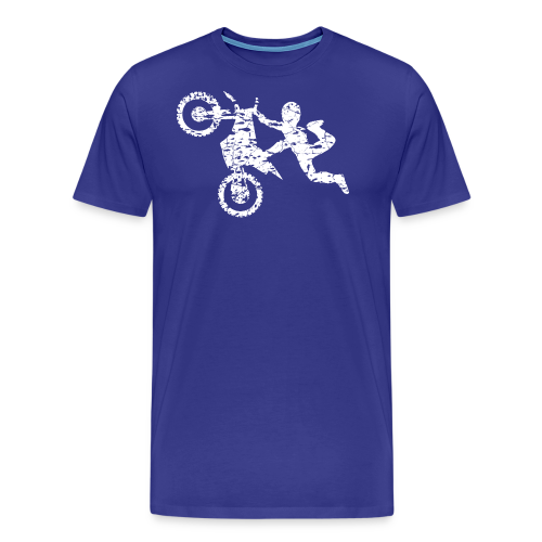Freestyle Dirt Biker - Men's Premium T-Shirt