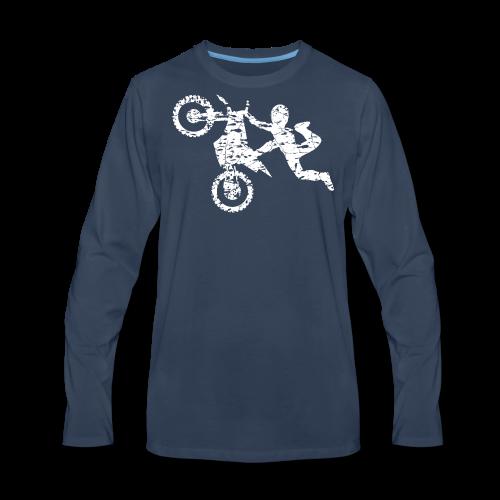 Freestyle Dirt Biker - Men's Premium Long Sleeve T-Shirt