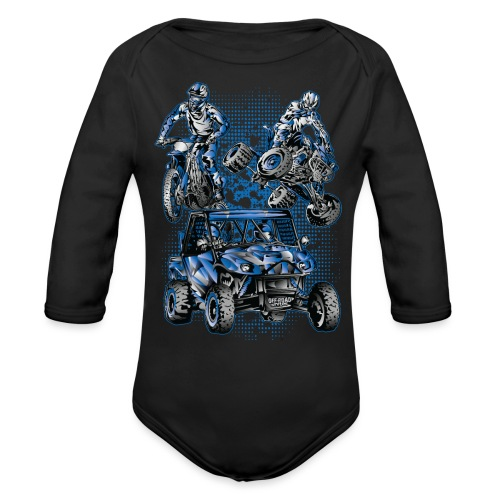 Extreme Off-Road Sports - Organic Long Sleeve Baby Bodysuit