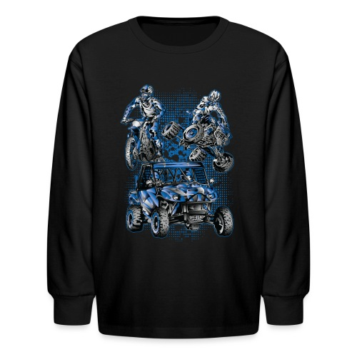 Extreme Off-Road Sports - Kids' Long Sleeve T-Shirt