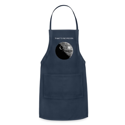 That's No Moon Hoodie - Adjustable Apron