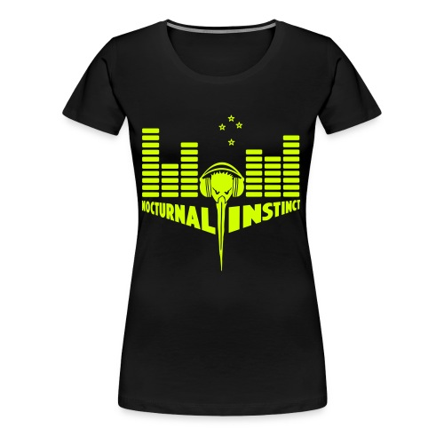 Nocturnal Instinct - Women's Premium T-Shirt